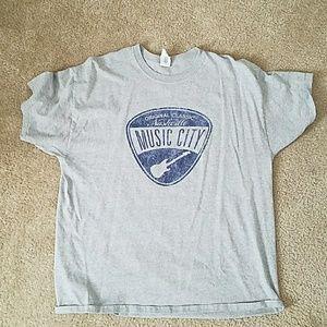 Nashville Music City T shirt